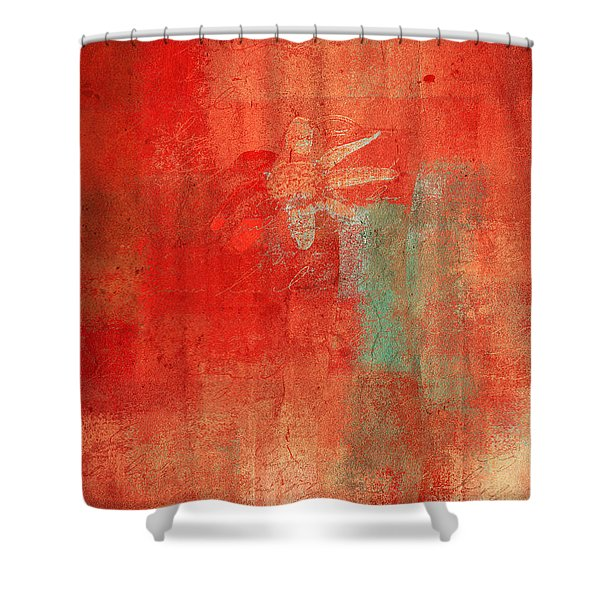 Abstract Floral - 50t12a Shower Curtain by Variance Collections