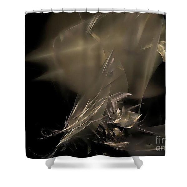 Abstraction 0151 marucii Shower Curtain by Marek Lutek