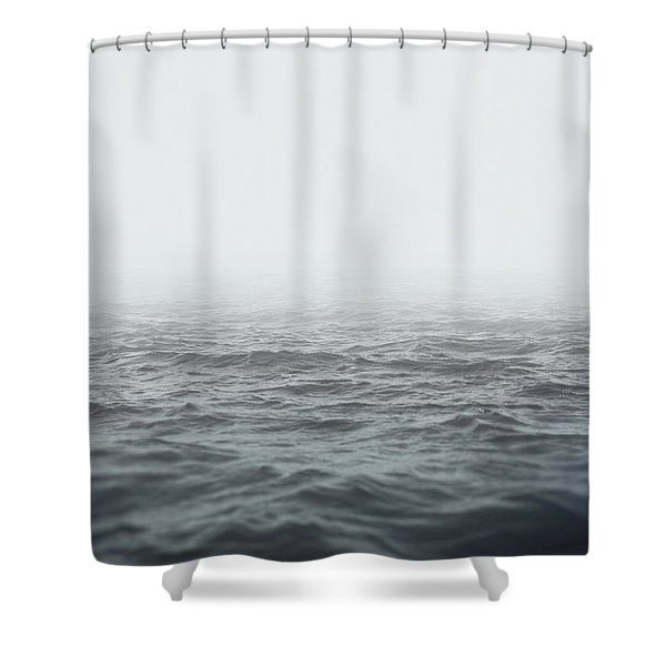 Aeon Shower Curtain by Taylan Soyturk