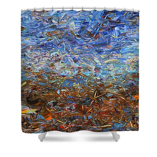 After a Rain Shower Curtain by James W Johnson