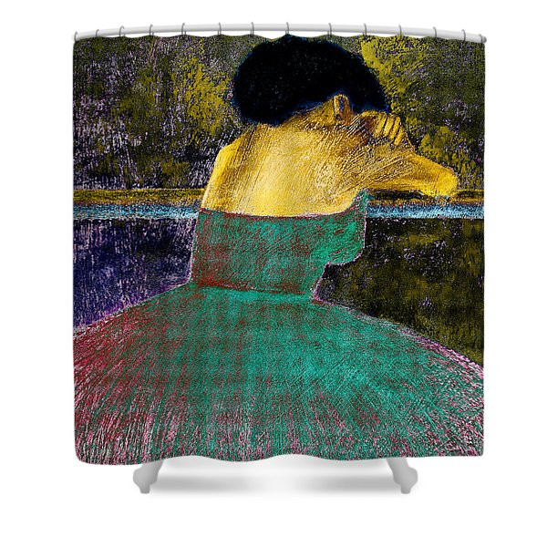 After the Dance Shower Curtain by David Patterson