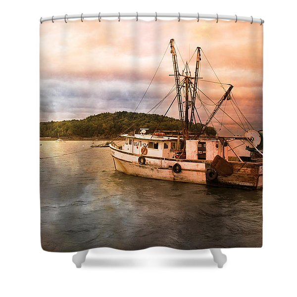 After the Storm Shower Curtain by Betsy C  Knapp