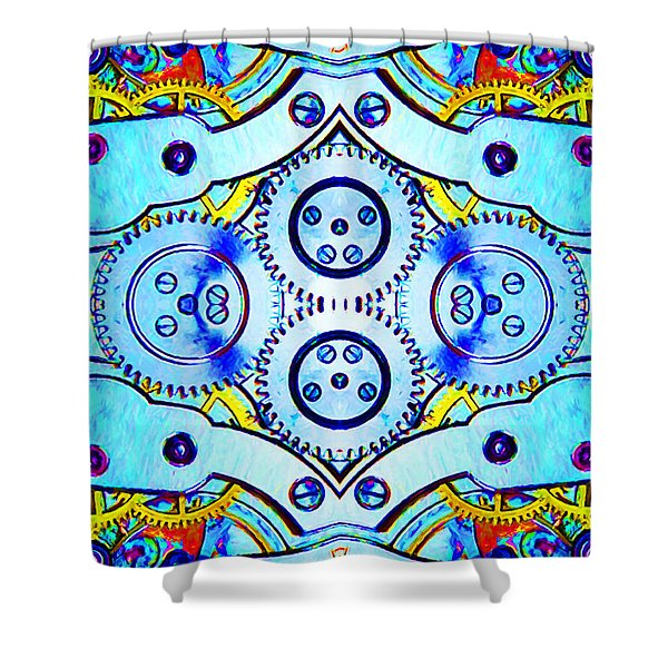 Age Of The Machine 20130605 vertical Shower Curtain by Wingsdomain Art and Photography