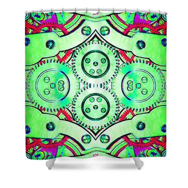 Age Of The Machine 20130605m72 vertical Shower Curtain by Wingsdomain Art and Photography