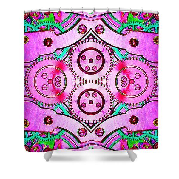 Age Of The Machine 20130605p108 vertical Shower Curtain by Wingsdomain Art and Photography