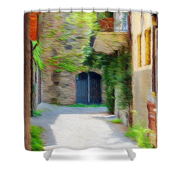 Almost Home Shower Curtain by Jeff Kolker