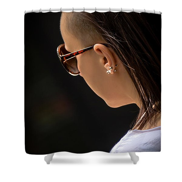 Alternative Figure Shower Curtain by Sotiris Filippou