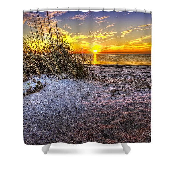 Ambience Of The Gulf Shower Curtain by Marvin Spates