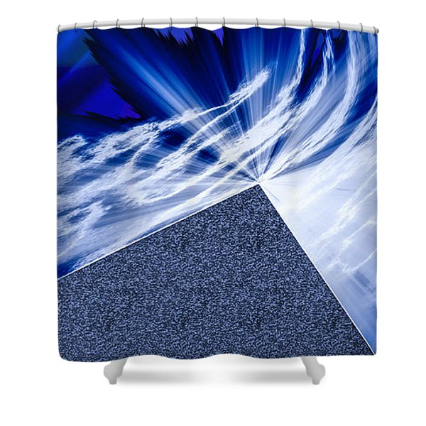 Another Pathway Through The Cosmos Shower Curtain by Kellice Swaggerty