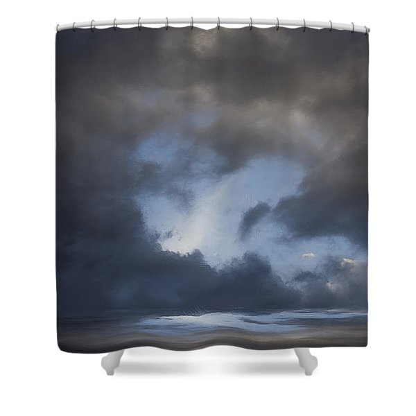 Approaching Storm Shower Curtain by Ron Jones