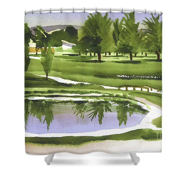 Arcadia Valley Country Club Shower Curtain by Kip DeVore