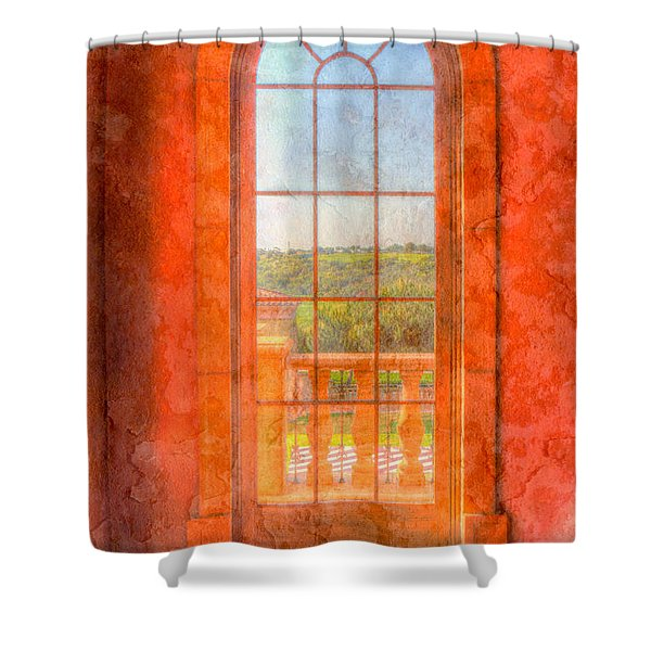 Arched Shower Curtain by Heidi Smith