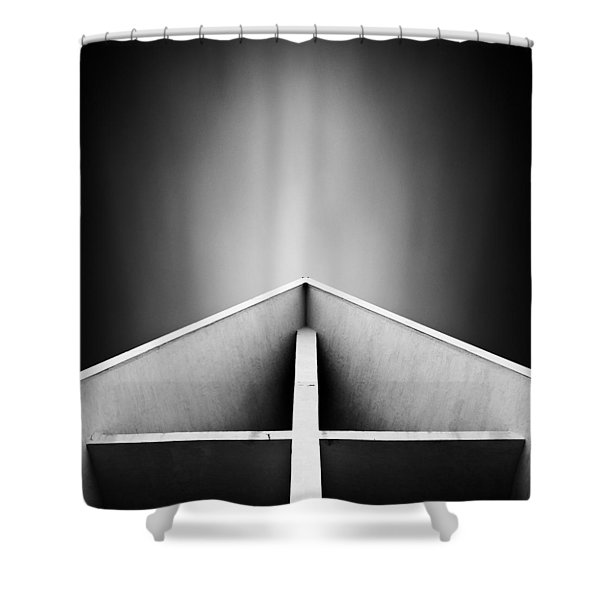 Arctic Cathedral Shower Curtain by Dave Bowman