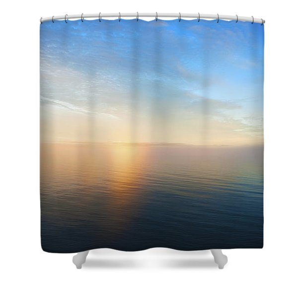 Arctic Colors... Shower Curtain by Nina Stavlund