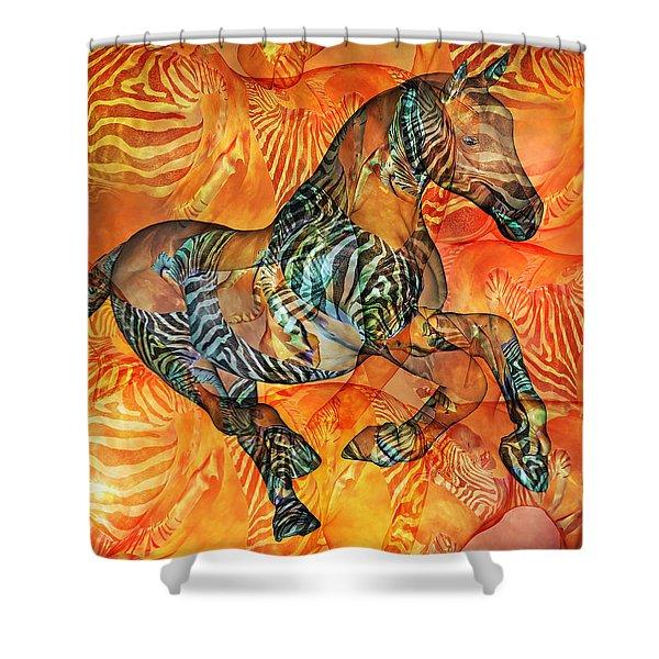 Arizona Sun Shower Curtain by Betsy C  Knapp