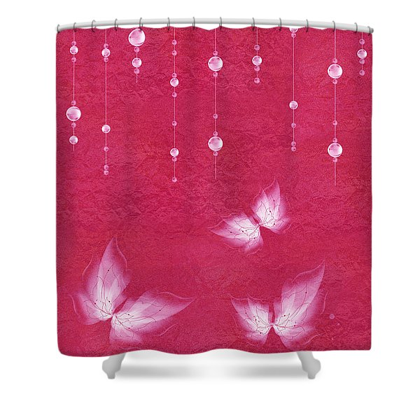 Art en Blanc - m04 Shower Curtain by Variance Collections