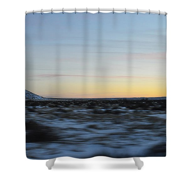 As time flies by Shower Curtain by Meandering Photography