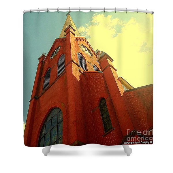 Aspire Shower Curtain by Tami Quigley