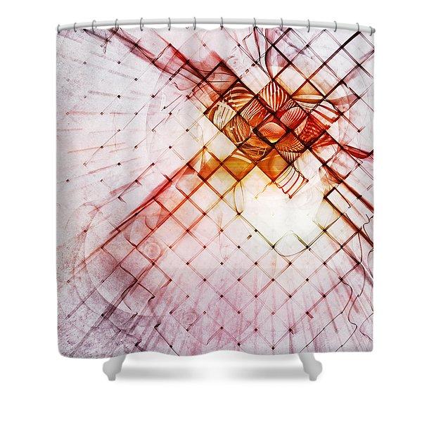 Atrium Shower Curtain by Scott Norris