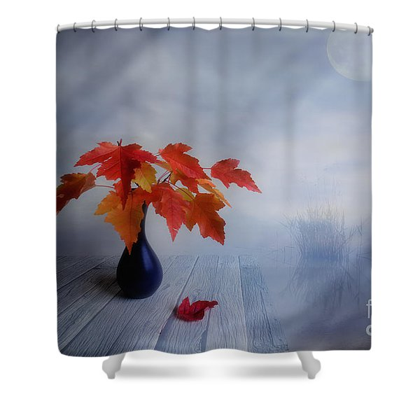 Autumn colors Shower Curtain by Veikko Suikkanen