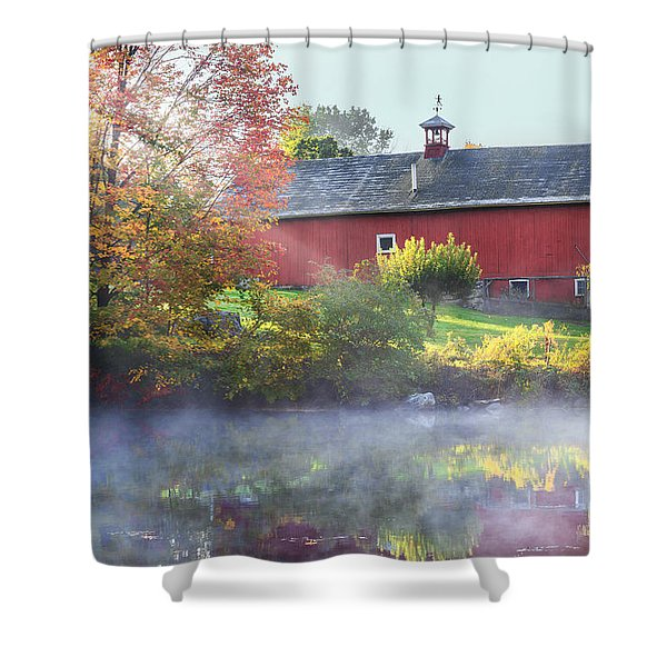Autumn Morn Shower Curtain by Bill  Wakeley