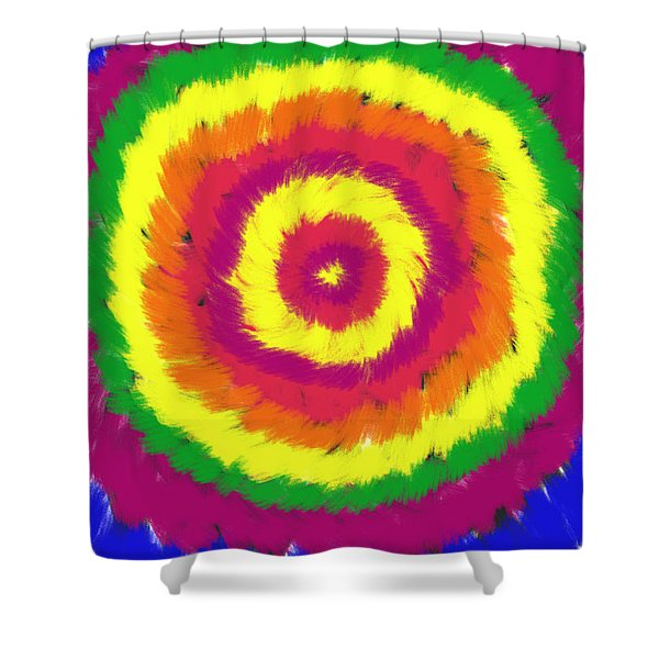 Awakening Shower Curtain by Daina White