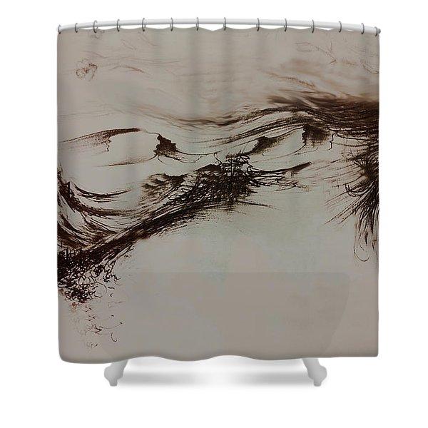 Babylon Shower Curtain by Rachel Christine Nowicki