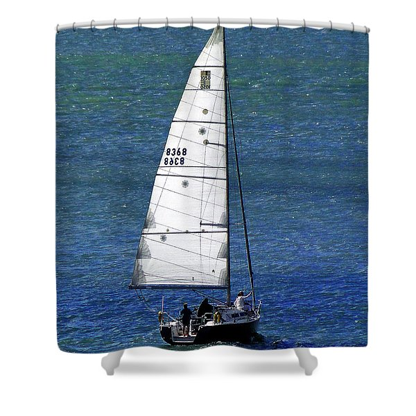 Backlit By The Sun Shower Curtain by Sue Melvin