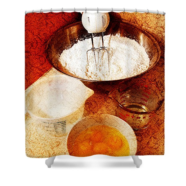 Bake Me A Cake Shower Curtain by Andee Design