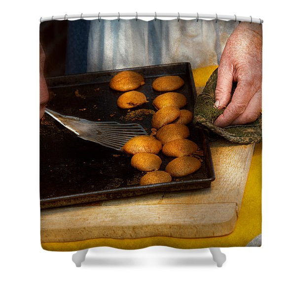 Baker - Food - Have Some Cookies Dear Shower Curtain by Mike Savad