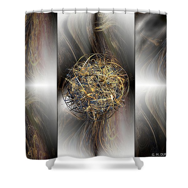 Balance Shower Curtain by Michael Durst