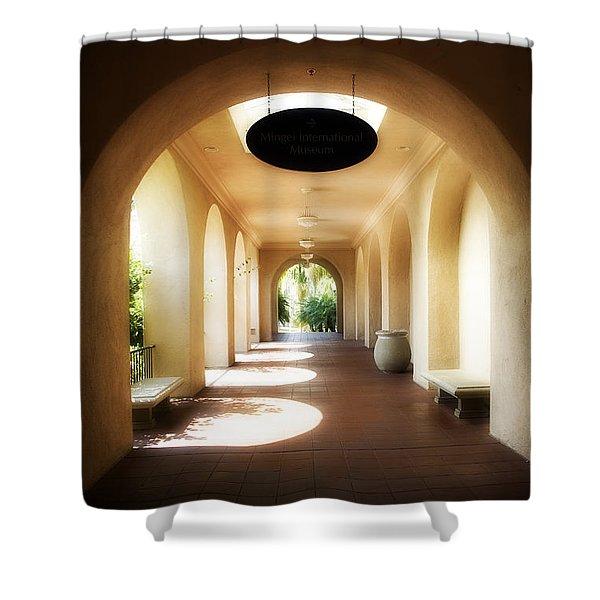 Balboa Park Shower Curtain by Hugh Smith