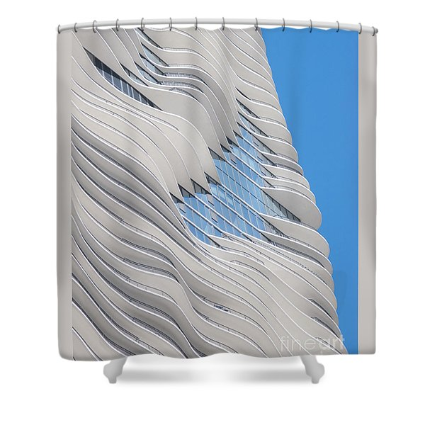 Balconies Shower Curtain by Ann Horn