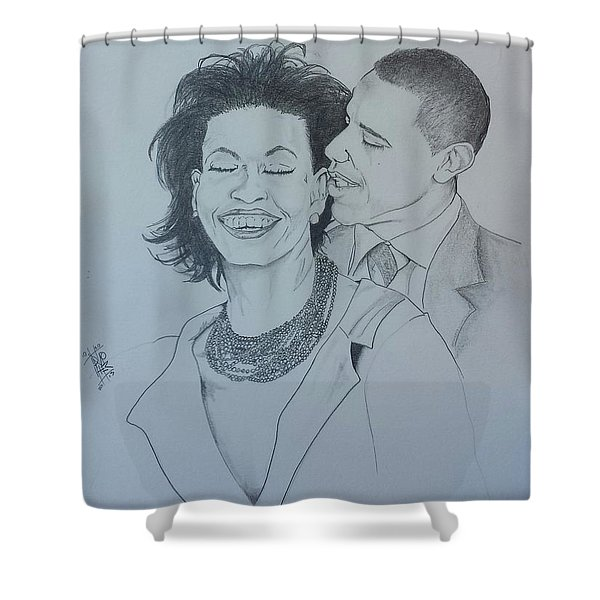 BandMO Shower Curtain by DMo Her