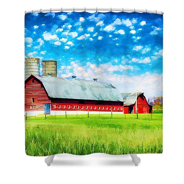 Bardstown Kentucky Shower Curtain by Darren Fisher