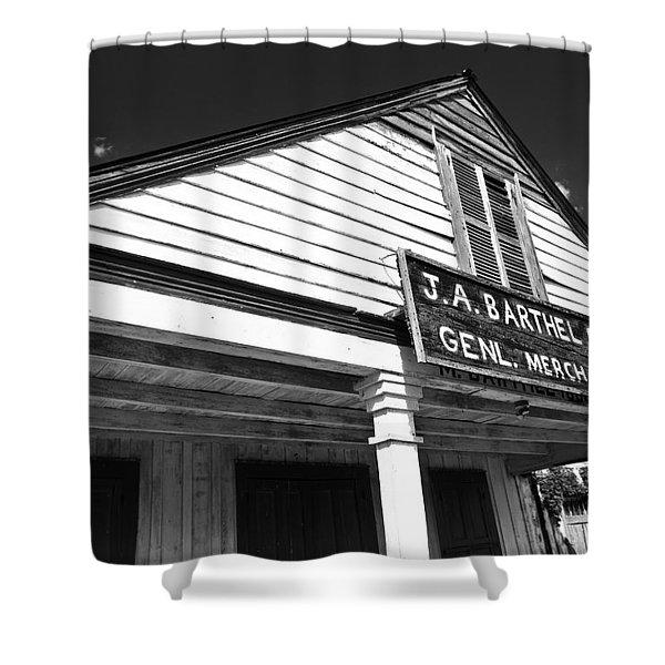 Barthel Store Shower Curtain by Scott Pellegrin