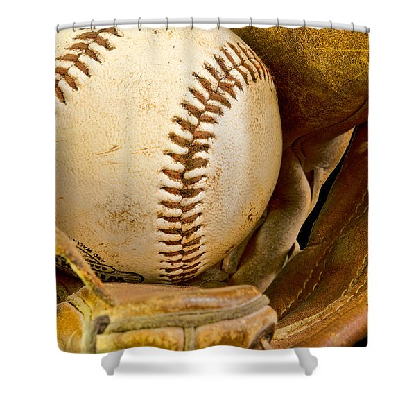 Baseball Has Been Very Good To Me Shower Curtain by Don Schwartz