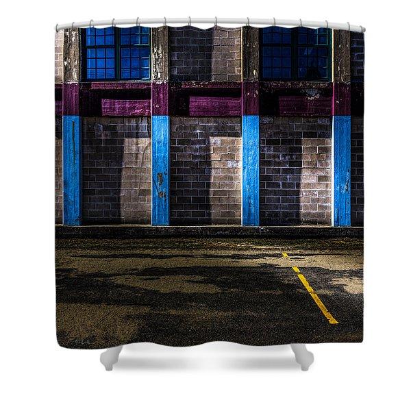 Bates Mill  Morning Light Shower Curtain by Bob Orsillo