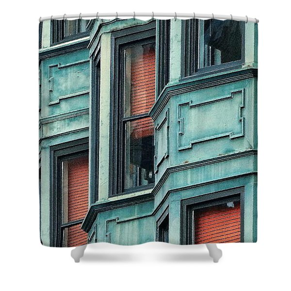 Bay Watch Shower Curtain by Ira Shander