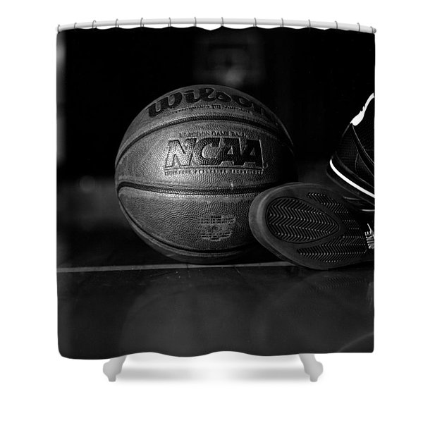 bball Shower Curtain by Molly Picklesimer