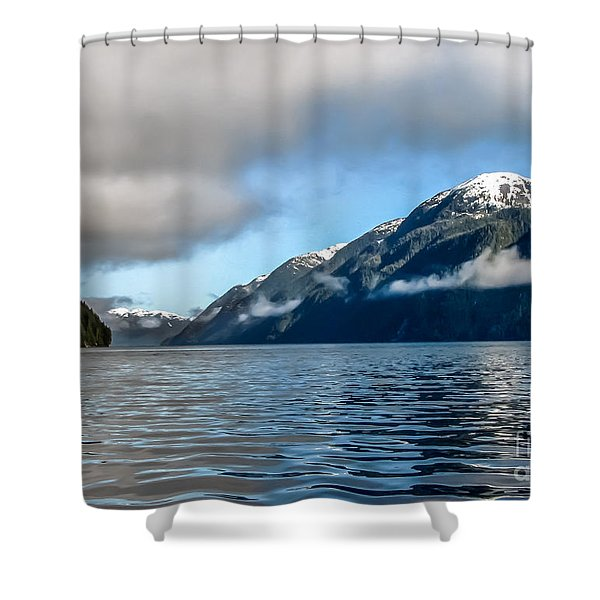 BC Inside Passage Shower Curtain by Robert Bales