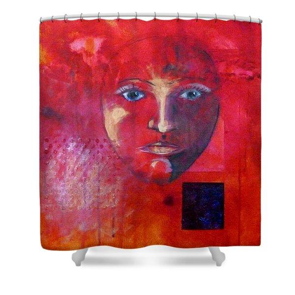 Be Golden Shower Curtain by Nancy Merkle