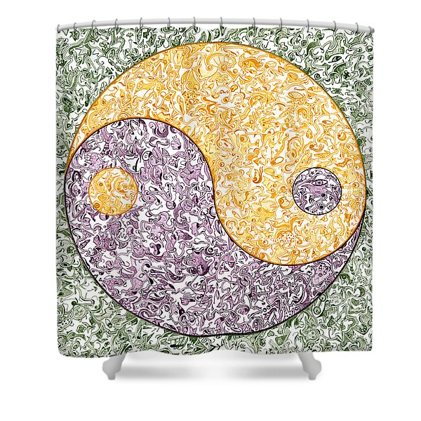 Be Ying Shower Curtain by Dave Migliore