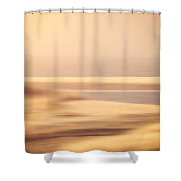 Beachscape Shower Curtain by Wim Lanclus