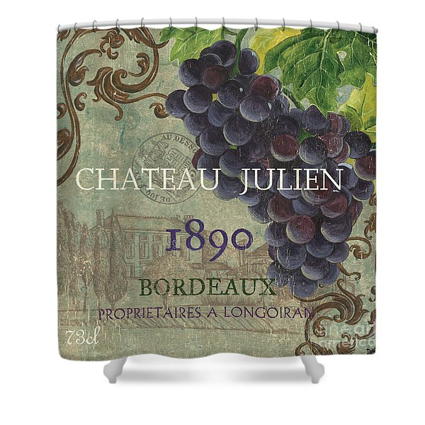 Beaujolais Nouveau 2 Shower Curtain by Debbie DeWitt
