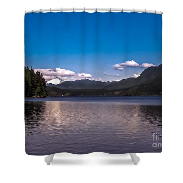 Beautiful BC Shower Curtain by Robert Bales
