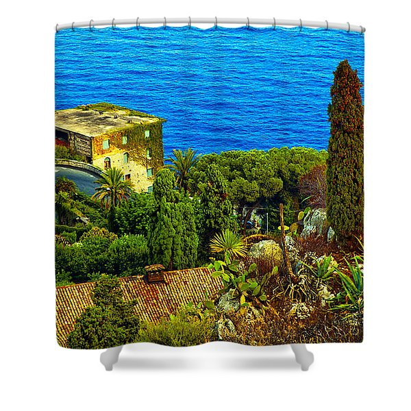 Beautiful Sicily Shower Curtain by Madeline Ellis