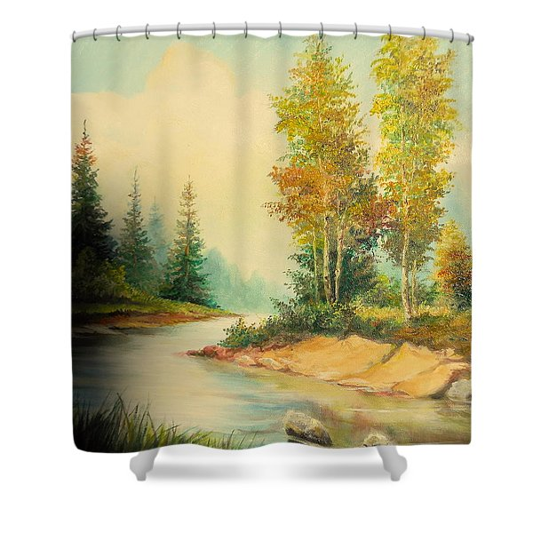 Beautiful Wild Shower Curtain by Sorin Apostolescu