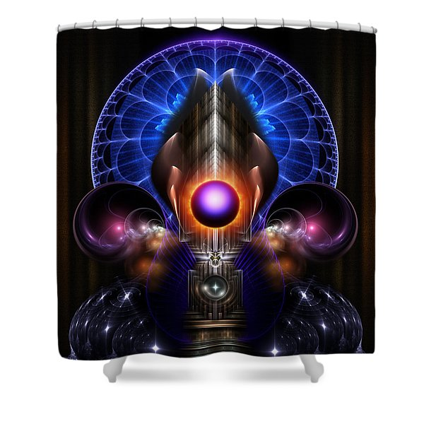 Beauty Of Tinious Shower Curtain by Rolando Burbon