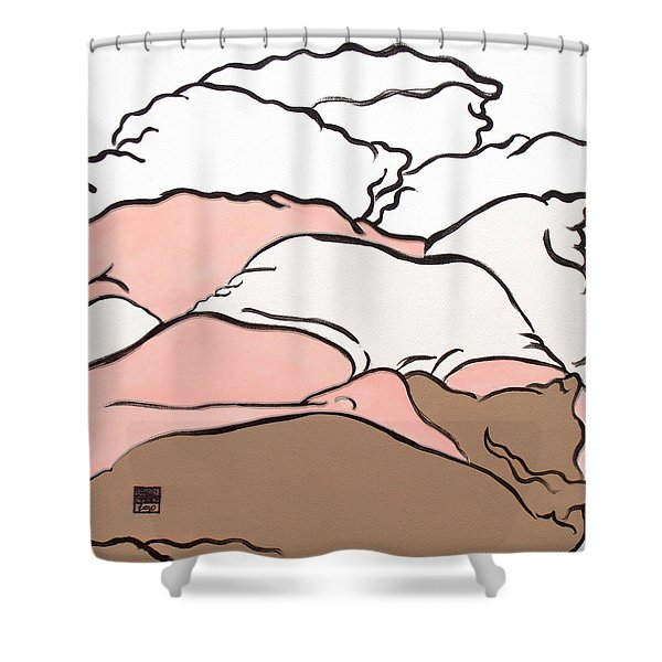 Bedscape Two Am Shower Curtain by Stan  Magnan